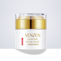 Venzen Six Peptide smoothing face cream with six peptides and vitamin E, 50ml